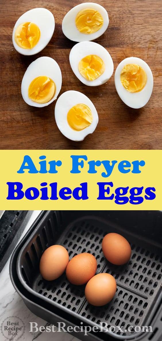 Air Fryer Boiled Eggs Recipe in Air Fryer @bestrecipebox
