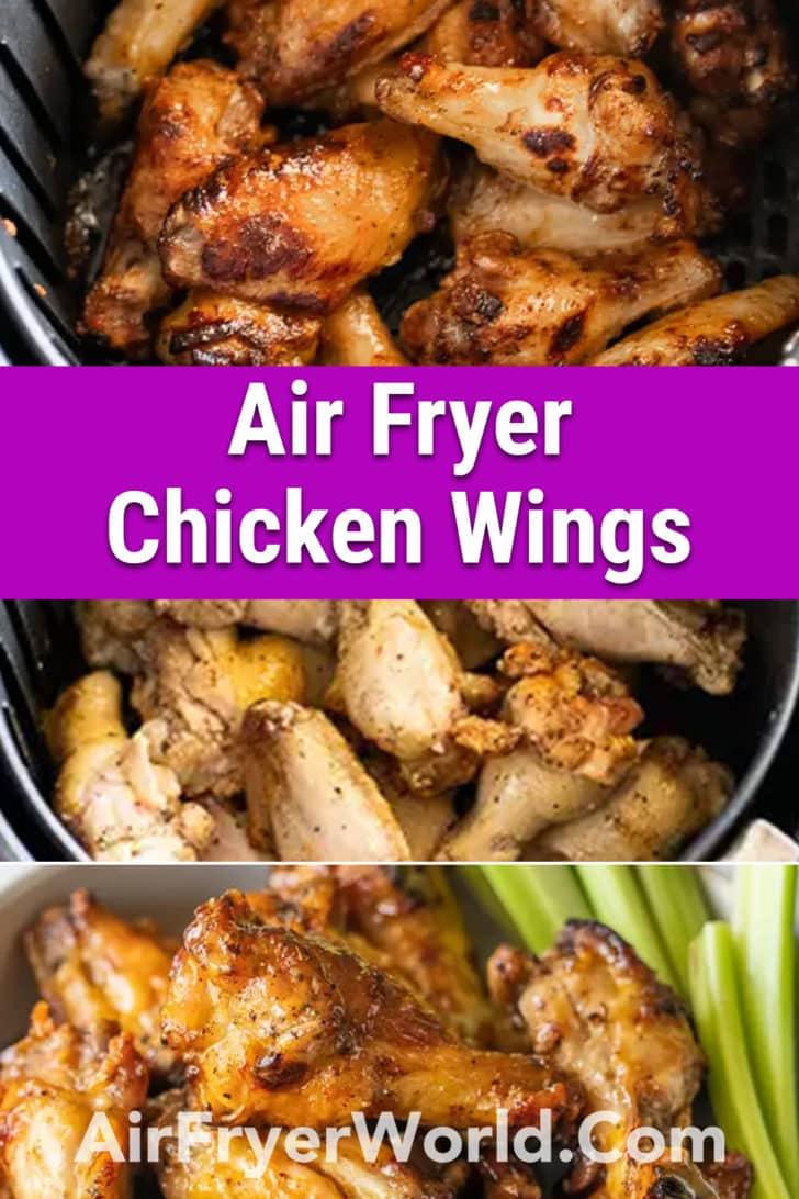 How to make Healthy Air Fryer Chicken Wings Recipe   @bestrecipebox