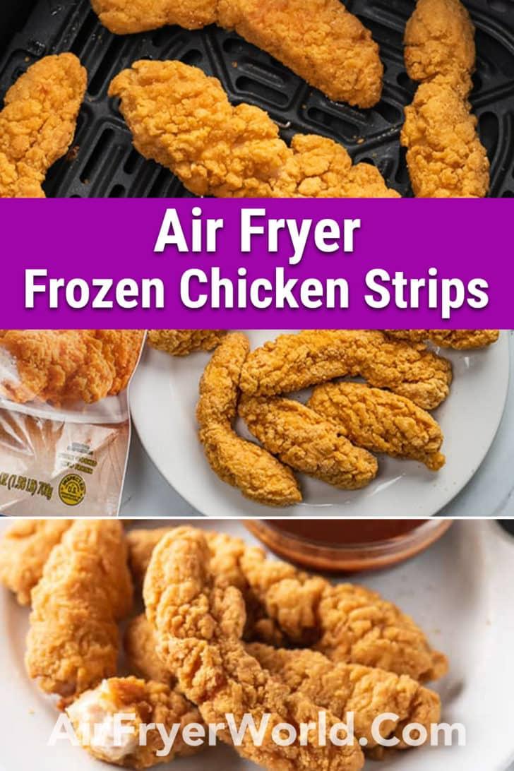 Air Fried Frozen Chicken Strips Tenders in Air Fryer | AirFryerWorld.com