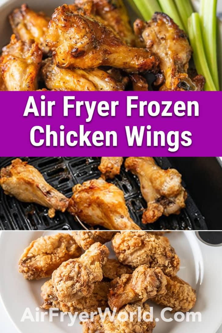Air Fryer Frozen Chicken Wings Recipe | AirFryerWorld.com