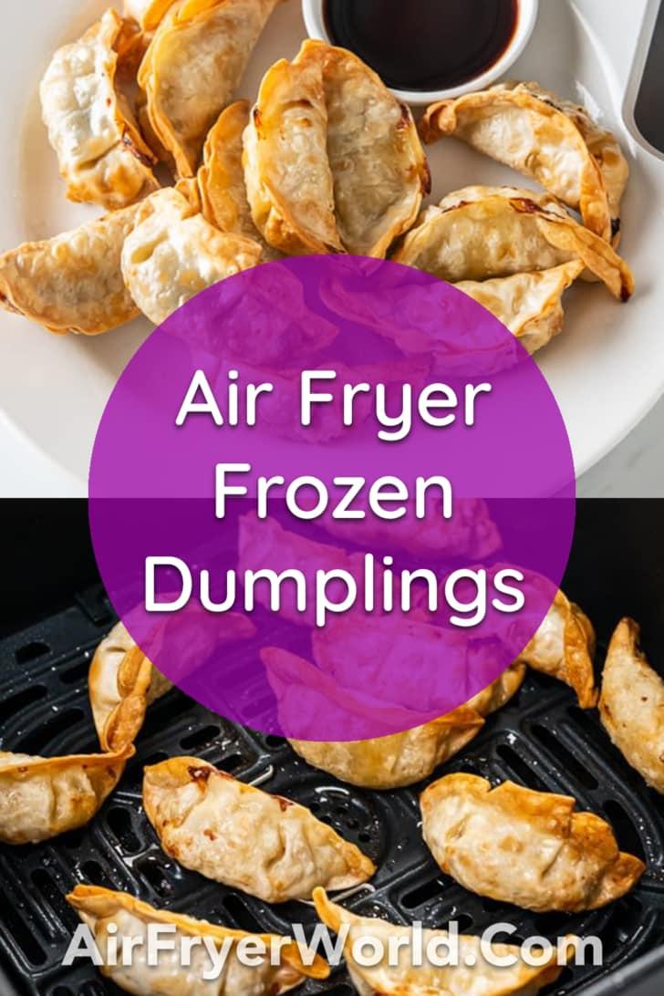 Air Fryer Frozen Dumpling, Potstickers, Gyoza, Wonton Recipe   AirFryerWorld.com