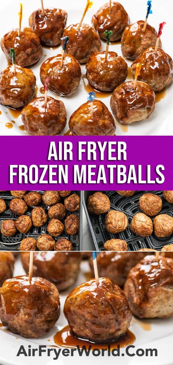 Air Fryer Frozen Meatballs | AirFryerWorld.com