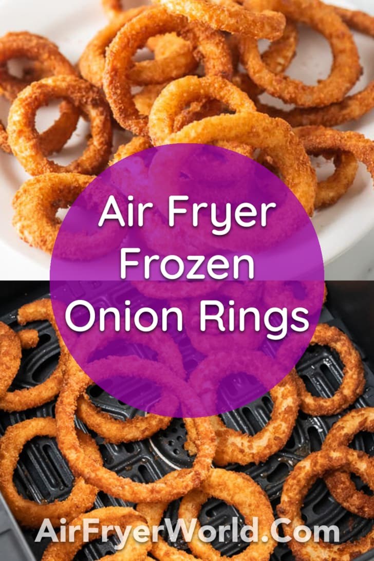 Air Fryer Fries and Frozen Foods Time and Temperature | AirFryerWorld.com