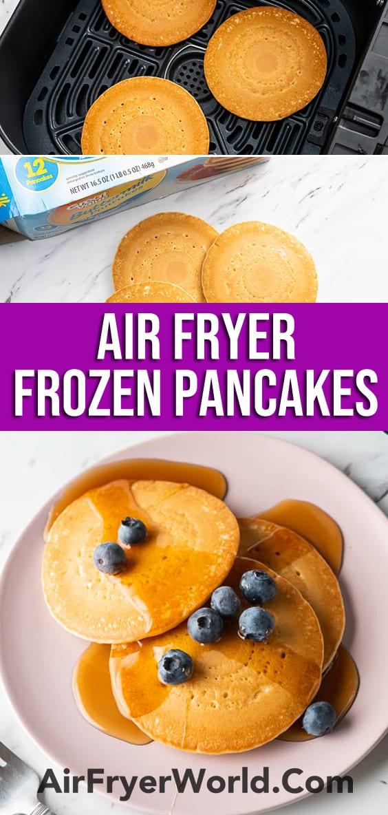 Air Fryer Frozen Pancakes or Hot Cakes in the Air Fryer   AirFryerWorld.com