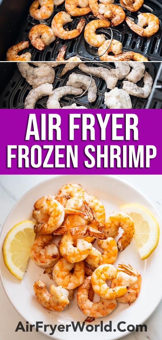Air Fryer Frozen Shrimp Recipe | AirFryerWorld.com