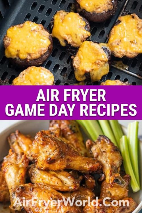 Air Fryer Game Day Recipes | AirFryerWorld.com