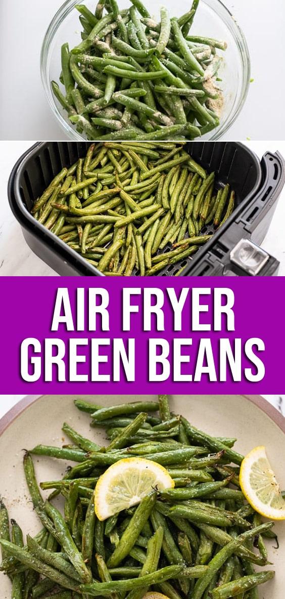 Air Fried Green Beans Recipe in Air Fryer | AirFryerWorld.com