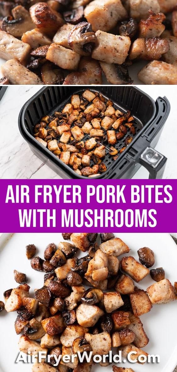 Air Fryer Pork Belly Bites Recipe that's Air Fried | AirFryerWorld.com
