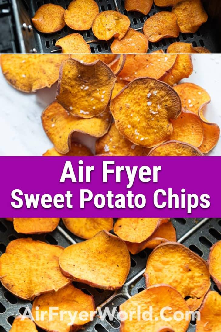 Air Fryer Sweet Potato Chips - Air FryerWorld-1