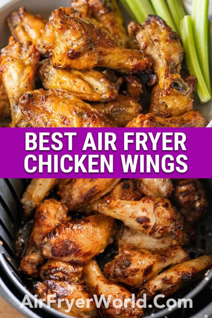 Best Air Fryer Chicken Wings   AirFryerWorld.com