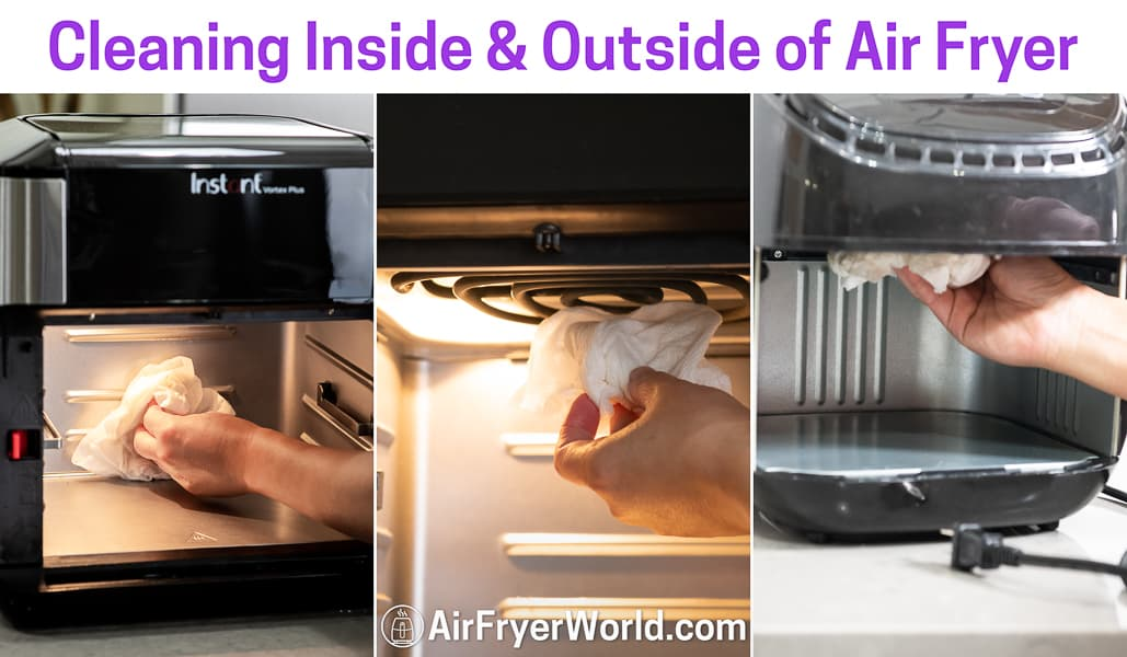 Tips for Cleaning Air Fryer   AirFryerWorld.com