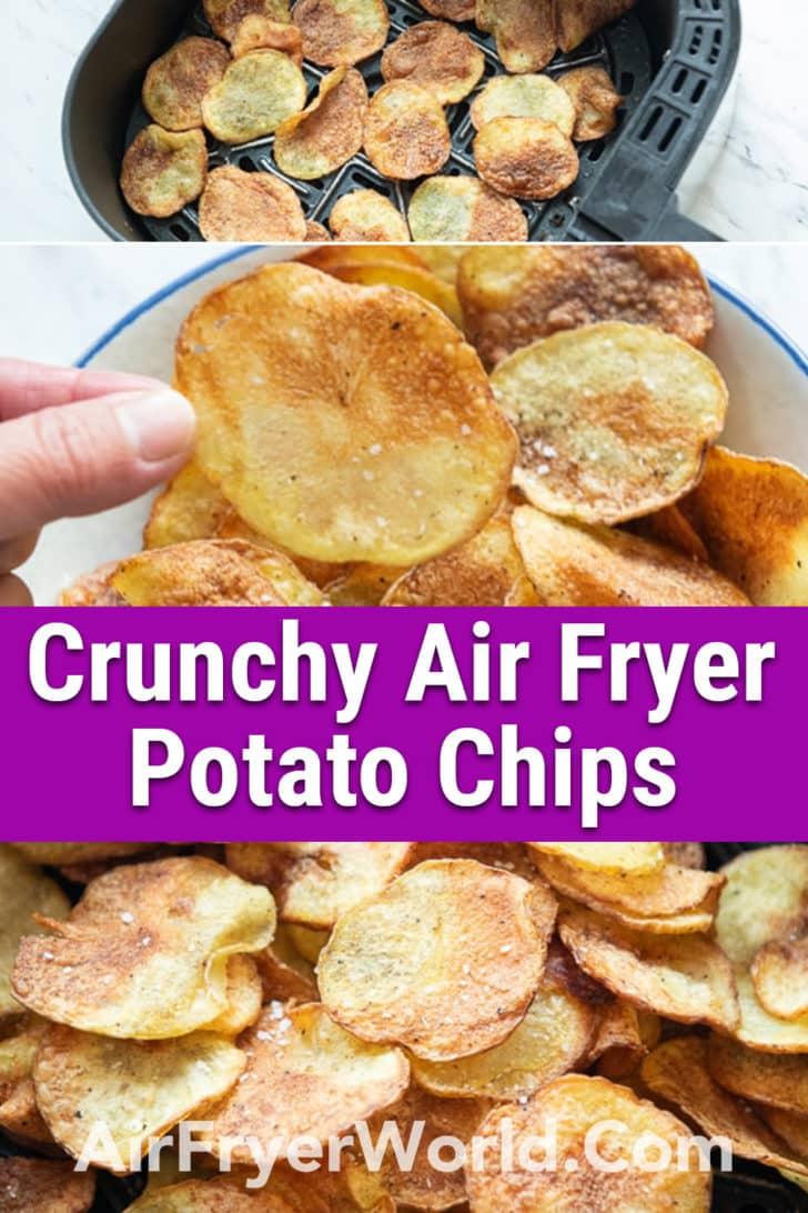 Air Fryer Potato Chips - AirFryerWorld-Pinterest-1