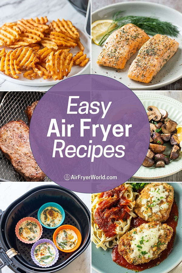 Easy Air Fryer Recipes that's Air Fried Healthy Recipes | AirFryerWorld.com