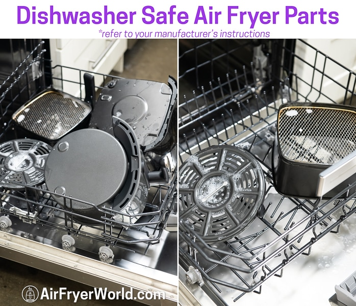 How To Clean Your Air Fryer in Dishwasher - AirFryerWorld.com