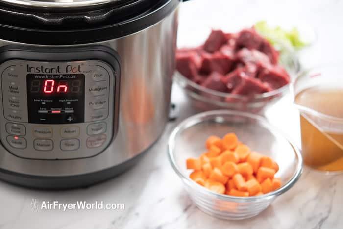 Instant Pot Beef Stew | AirFryerWorld.com