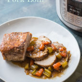 Instant Pot Pork Roast Recipe or Pork Tenderloin Recipe | @bestrecipebox