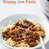 Instant Pot Sloppy Joe Pasta Recipe @bestrecipebox