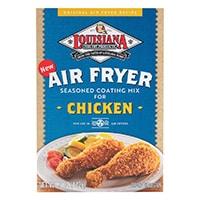 Box of Louisiana Air Fryer Chicken Coating