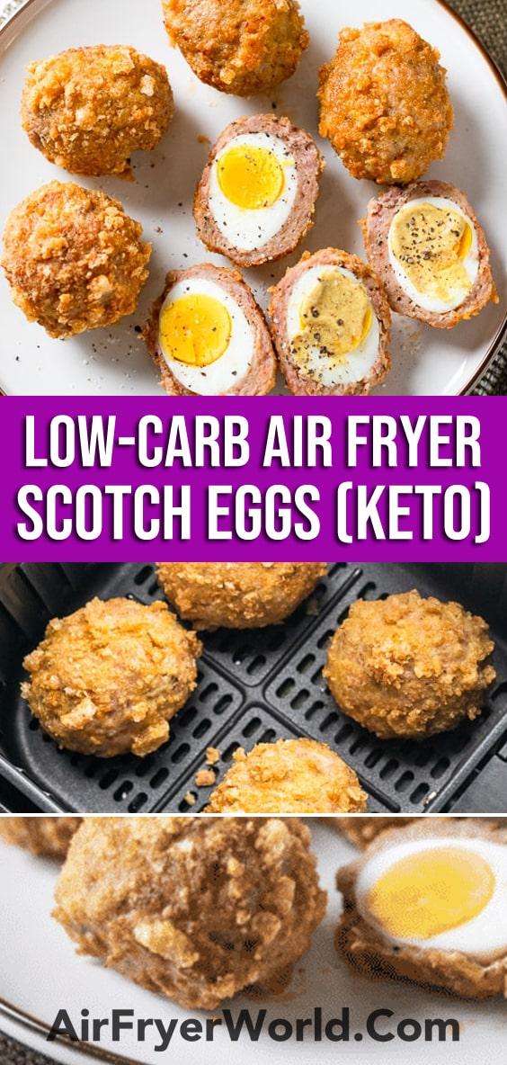 Air Fryer Scotch Eggs Recipe | AirFryerWorld.com