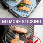 Non-Stick Air Fryer Silicone Mats Liners