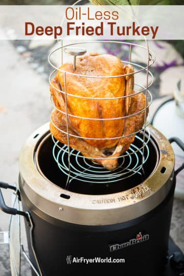 Thanksgiving recipe deep fried
