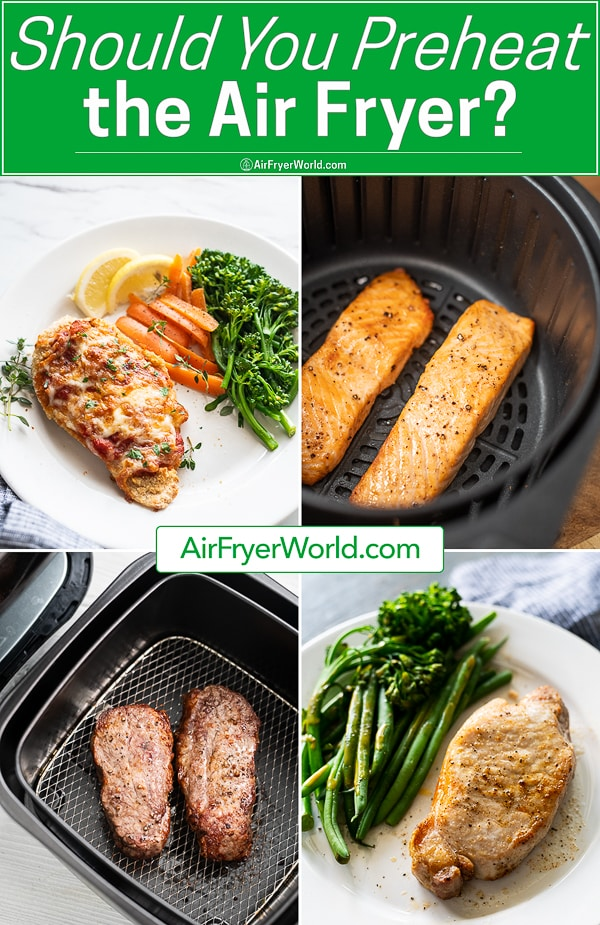 Should You Preheat Air Fryer? Why preheating air fryer is good   AirFryerWorld.com