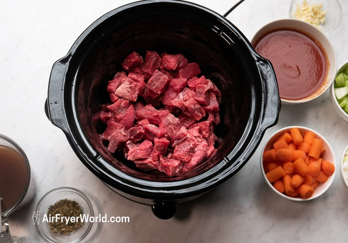 Recipe Slow Cooker Beef Stew | AirFryerWorld.com