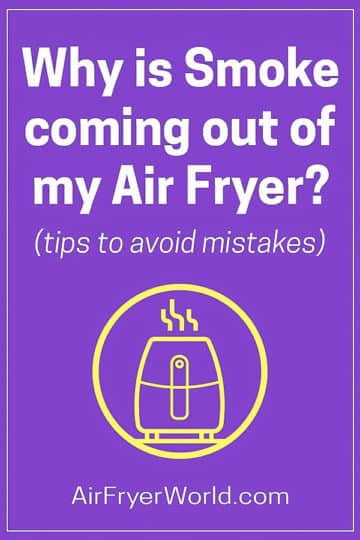 Why is Air Fryer Smoking and Releasing smoke?   AirFryerWorld.com