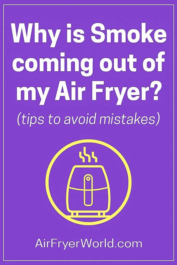 Why is Air Fryer Smoking and Releasing smoke? | AirFryerWorld.com