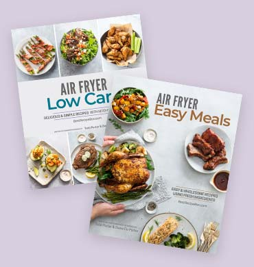 Air fryer ebook covers